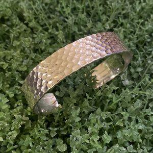 Gorgeous Silpada Hammered Cuff